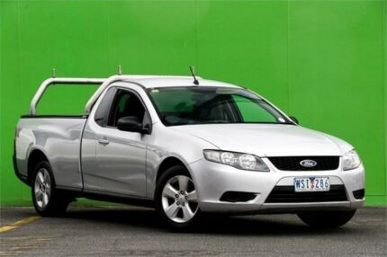 2008 Ford Falcon FG Ute Super Cab Silver 4 Speed Sports Automatic Utility Ringwood East Maroondah Area Preview