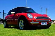 2003 Mini Hatch R50 Cooper Red Manual Hatchback East Rockingham Rockingham Area Preview