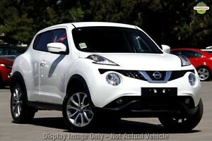 2015 Nissan Juke F15 Series 2 ST X-tronic 2WD White 1 Speed Constant Variable Hatchback Knoxfield Knox Area Preview