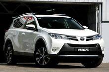 2014 Toyota RAV4 ALA49R MY14 Upgrade Cruiser (4x4) White 6 Speed Automatic Wagon Mosman Mosman Area Preview