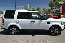 2011 Land Rover Discovery 4 MY11 3.0 SDV6 HSE White 6 Speed Automatic Wagon Hillman Rockingham Area Preview