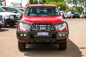 2016 Mitsubishi Triton MQ MY16 GLS Double Cab Red 6 Speed Manual Utility Wilson Canning Area Preview