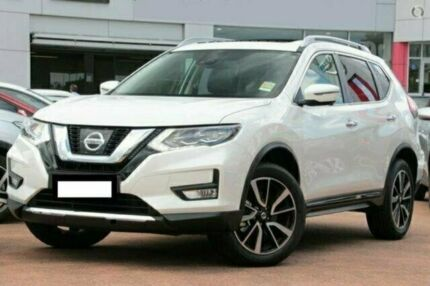 2017 Nissan X-Trail T32 Series 2 TL (4WD) White Continuous Variable Wagon Brookvale Manly Area Preview