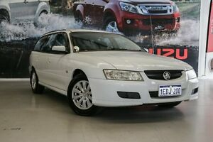 2006 Holden Commodore VZ Acclaim White 4 Speed Automatic Wagon Hillman Rockingham Area Preview