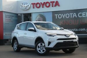 2016 Toyota RAV4 ASA44R GX AWD Glacier White 6 Speed Sports Automatic Wagon
