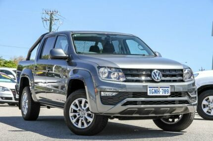 2018 Volkswagen Amarok 2H MY18 TDI420 4MOTION Perm Core Plus Grey 8 Speed Automatic Utility Myaree Melville Area Preview