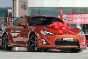 2013 Toyota 86 ZN6 GTS Orange 6 Speed Manual Coupe Pennant Hills Hornsby Area Preview