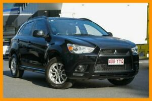 2011 Mitsubishi ASX XA MY11 2WD Black Pearl 6 Speed Constant Variable Wagon