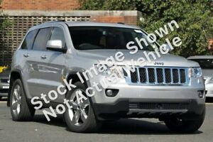 2012 Jeep Grand Cherokee WK MY2012 Overland Silver 5 Speed Sports Automatic Wagon Blacktown Blacktown Area Preview
