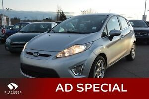 2013 Ford Fiesta TITANIUM AUTO Accident Free,  Heated Seats,  Bl