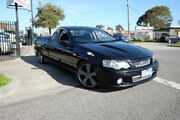 2005 Ford Falcon BA Mk II XR8 Ute Super Cab Black 6 Speed Manual Utility Dandenong Greater Dandenong Preview