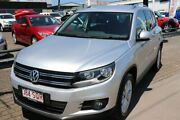 2012 Volkswagen Tiguan 5N MY13 155TSI DSG 4MOTION Silver 7 Speed Sports Automatic Dual Clutch Wagon Slacks Creek Logan Area Preview