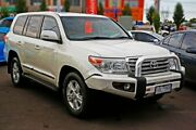 2013 Toyota Landcruiser VDJ200R MY13 Sahara White 6 Speed Sports Automatic Wagon Mill Park Whittlesea Area Preview