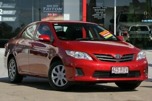 2011 Toyota Corolla ZRE152R MY11 Ascent Red 6 Speed Manual Hatchback Kippa-ring Redcliffe Area Preview