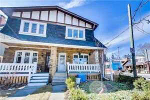 Gorgeous Fully Renovated Semi-Detached Home In The Beaches