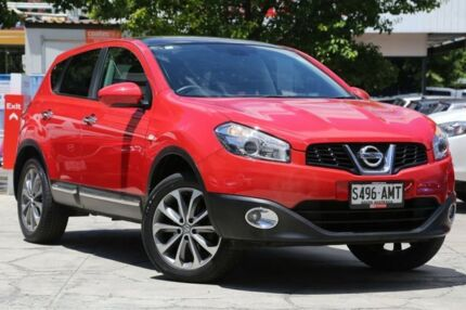 2011 Nissan Dualis J10 Series II MY2010 Ti Hatch X-tronic 6 Speed Constant Variable Hatchback Adelaide CBD Adelaide City Preview