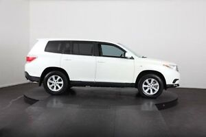 2010 Toyota Kluger GSU40R KX-R (FWD) 5 Seat White 5 Speed Automatic Wagon McGraths Hill Hawkesbury Area Preview