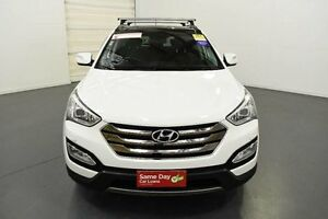 2013 Hyundai Santa Fe DM Highlander CRDi (4x4) White 6 Speed Automatic Wagon Moorabbin Kingston Area Preview