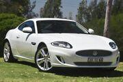 2014 Jaguar XK X150 MY15 Polaris White 6 Speed Sports Automatic Coupe St James Victoria Park Area Preview
