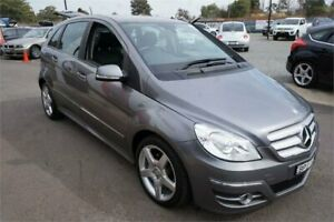 2010 Mercedes-Benz B-Class W245 MY11 B200 Grey 7 Speed Constant Variable Hatchback Revesby Bankstown Area Preview