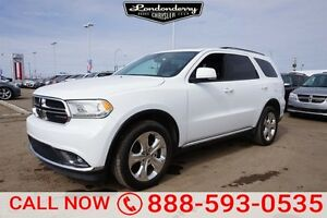 2015 Dodge Durango AWD LIMITED Accident Free,  Rear DVD,  Leathe