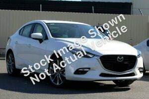 2018 Mazda 3 BN5238 SP25 SKYACTIV-Drive Astina White 6 Speed Sports Automatic Sedan South Melbourne Port Phillip Preview