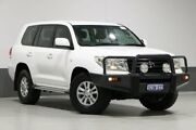 2011 Toyota Landcruiser UZJ200R 09 Upgrade GXL (4x4) White 5 Speed Automatic Wagon Bentley Canning Area Preview