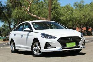 2017 Hyundai Sonata LF4 MY18 Active White 6 Speed Sports Automatic Sedan Nailsworth Prospect Area Preview