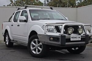 2014 Nissan Navara D40 S6 MY12 ST White 5 Speed Sports Automatic Utility Nailsworth Prospect Area Preview
