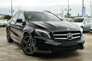 2014 Mercedes-Benz GLA 250 4MATIC X156 805+055MY DCT 4MATIC Black 7 Speed Kedron Brisbane North East Preview