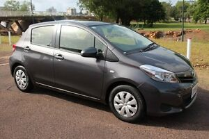 2014 Toyota Yaris NCP130R YR Graphite 4 Speed Automatic Hatchback The Gardens Darwin City Preview