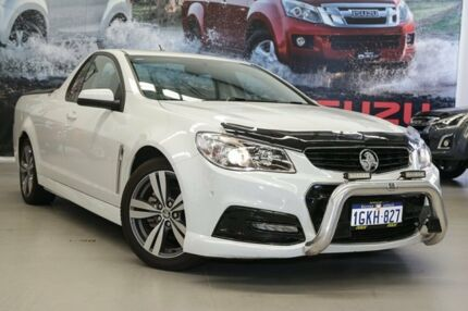 2014 Holden Ute VF MY14 SV6 Ute White 6 Speed Sports Automatic Utility Rockingham Rockingham Area Preview