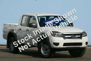 2010 Ford Ranger PK XL (4x4) Titanium Grey 5 Speed Manual Dual Cab Pick-up Windsor Gardens Port Adelaide Area Preview