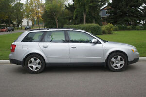 2003 Audi A4 Avant (1.8T, 5 speed manual, Quattro)