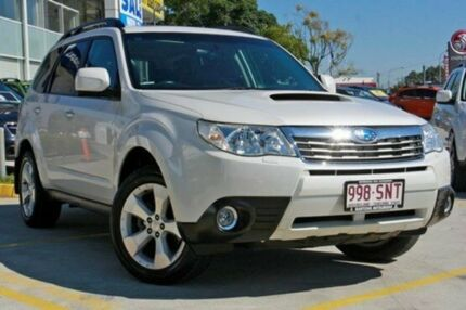 2010 Subaru Forester S3 MY10 2.0D AWD Premium White 6 Speed Manual Wagon Capalaba Brisbane South East Preview