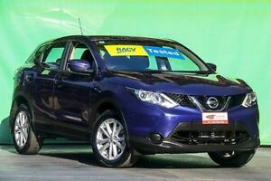 2015 Nissan Qashqai J11 ST Ink Blue 1 Speed Constant Variable Wagon Ringwood East Maroondah Area Preview