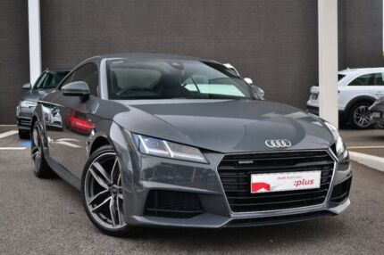 2016 Audi TT FV MY16 S Line S tronic quattro Grey 6 Speed Sports Automatic Dual Clutch Coupe Burwood Whitehorse Area Preview