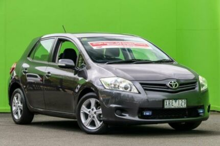 2010 Toyota Corolla ZRE152R Conquest Grey 6 Speed Manual Sedan Ringwood East Maroondah Area Preview