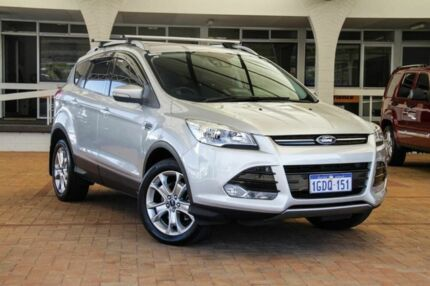 2015 Ford Kuga TF MY16 Trend PwrShift AWD Moondust Silver 6 Speed Sports Automatic Dual Clutch Wagon Melville Melville Area Preview