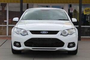 2013 Ford Falcon FG MkII XR6 White 6 Speed Sports Automatic Sedan Telarah Maitland Area Preview