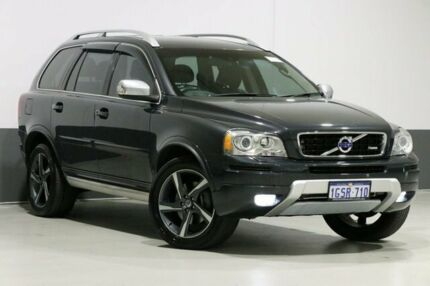 2012 Volvo XC90 MY12 D5 R-Design Grey 6 Speed Automatic Geartronic Wagon Bentley Canning Area Preview