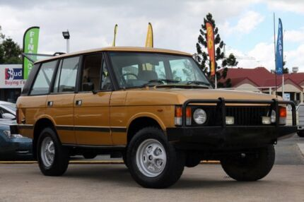 1983 Land Rover Range Rover Gold 3 Speed Automatic Wagon