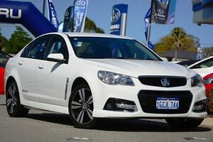2014 Holden Commodore VF MY14 SV6 Storm White 6 Speed Sports Automatic Sedan Willagee Melville Area Preview