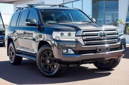 2015 Toyota Landcruiser VDJ200R Sahara Graphite 6 Speed Sports Automatic Wagon Wangara Wanneroo Area Preview