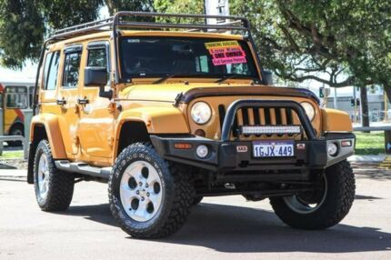 2012 Jeep Wrangler JK MY2013 Unlimited Overland Orange 5 Speed Automatic Hardtop