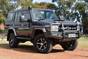 2016 Toyota Landcruiser VDJ76R GXL Grey 5 Speed Manual Wagon St Marys Mitcham Area Preview