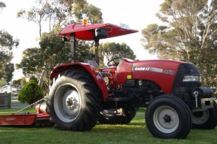 Tractor : Case yr2008 JX60 2WD with Slasher and Hay-Forks Wonthaggi Bass Coast Preview