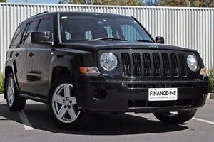 2010 Jeep Patriot MK MY2010 Sport Black 5 Speed Manual Wagon Nailsworth Prospect Area Preview