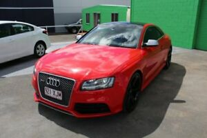 2011 Audi RS5 8T MY11 S tronic quattro Red 7 Speed Sports Automatic Dual Clutch Coupe