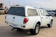 2012 Mitsubishi Triton MN MY12 GLX Double Cab White 5 Speed Manual Utility Pakenham Cardinia Area Preview